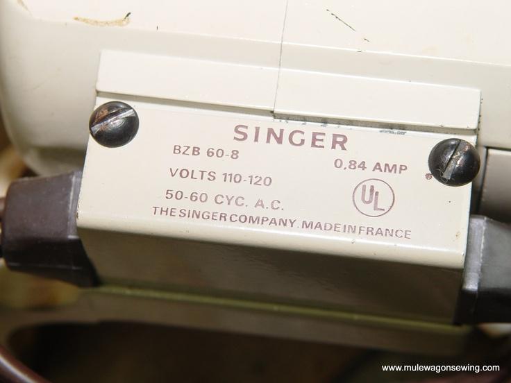 Singer model 237 sewing machine parts sewing motor for Singer sewing machine motor controller