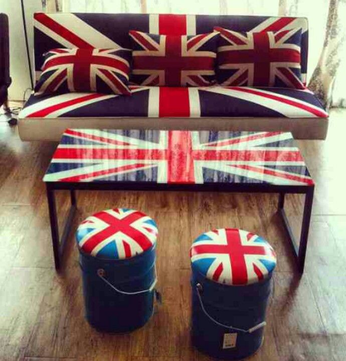 Decorate With Union Jack Even Home D Cor And Modern Interiors Work Well With The Union Jack Theme From Furniture And D Cor To Art Work And Accessories