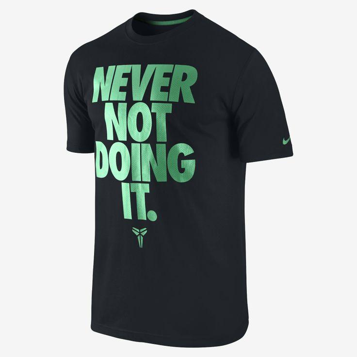 """Nike Store. Kobe """"Never Not Doing It"""" Men's T-Shirt"""