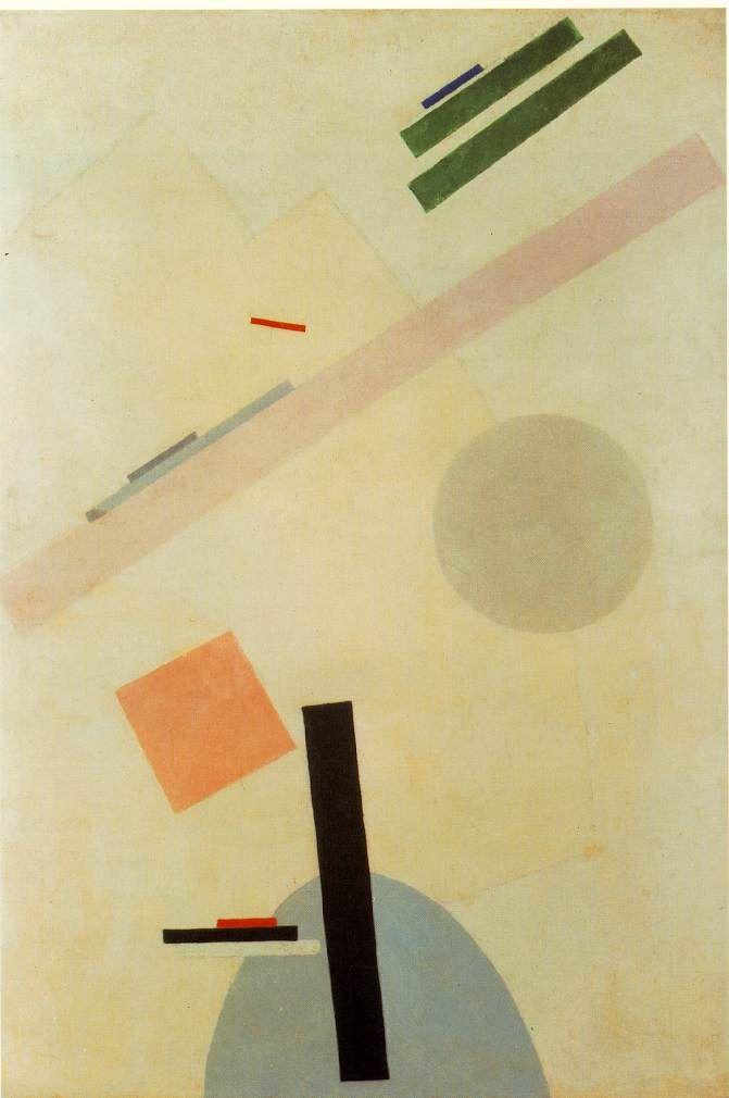 Suprematist Painting (1917) - Kazimir Malevich