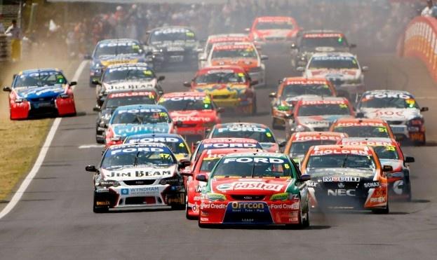 australian v8 super cars