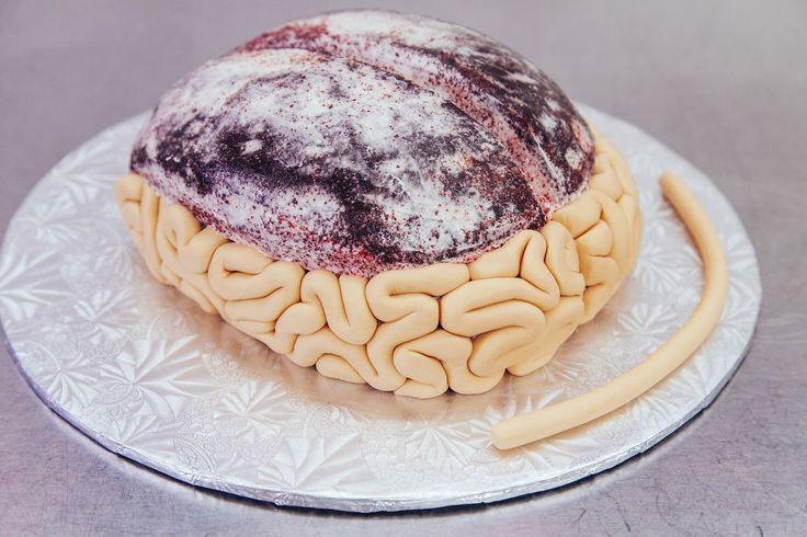 How To Make A Gory Red Velvet Brain Cake For Halloween