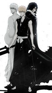 bleach, kurosaki ichigo, empty, swords