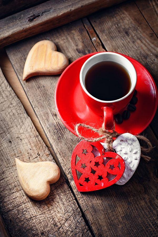 Coffee on Valentine's day by Mykola Lunov - Photo 135889041 / 500px