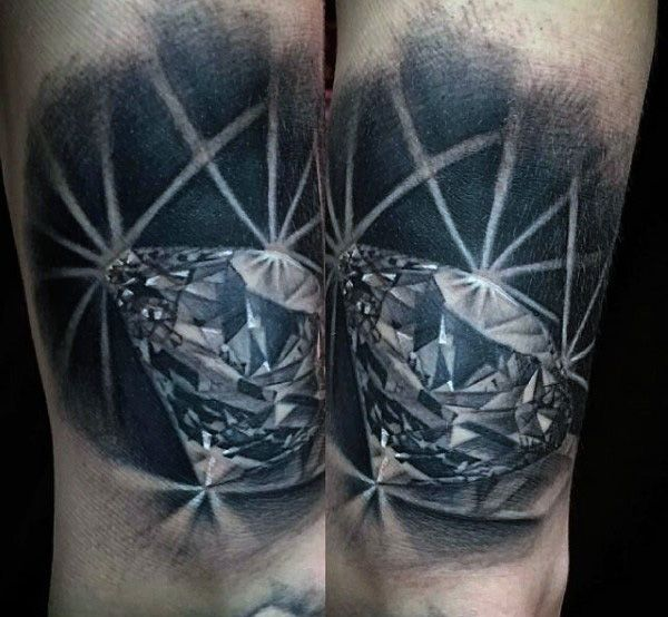 52 Best Diamond Tattoos For Men Images On Pinterest