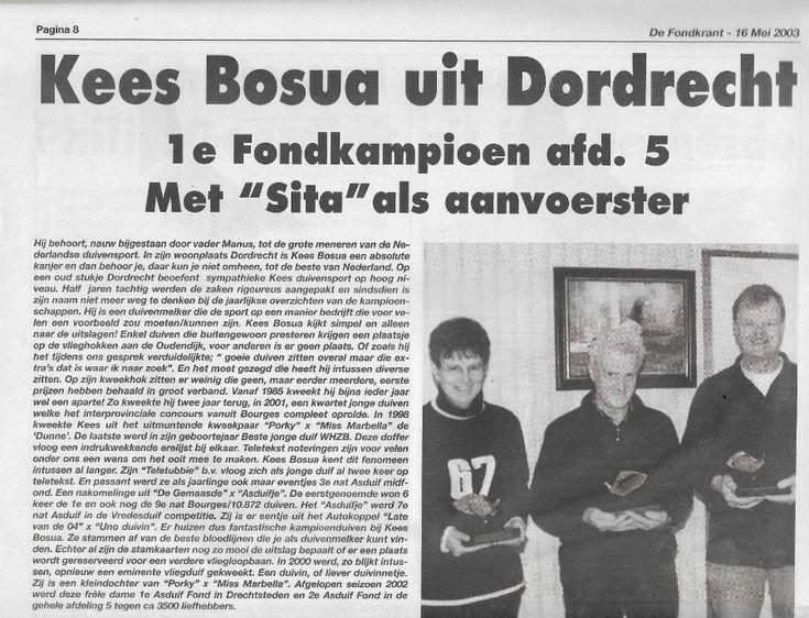 Fondkrant 2003 | Website Kees Bosua