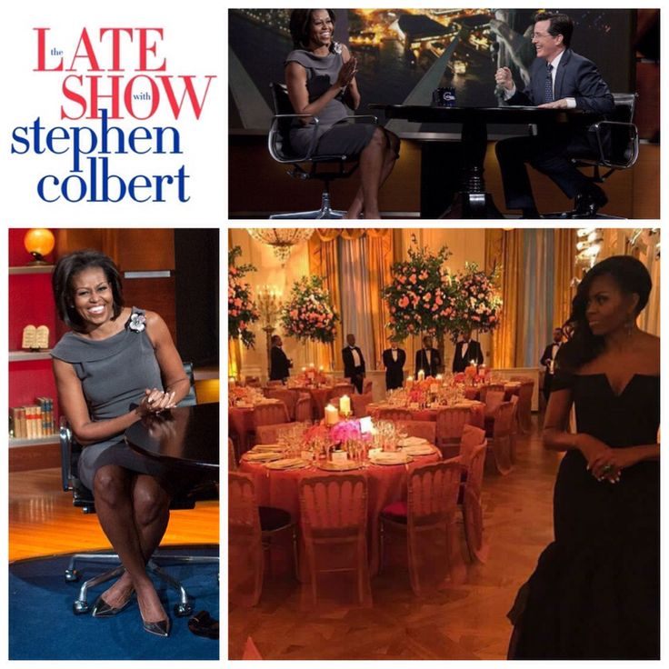 """It's always an honor to have the #FirstLady #MichelleObama said host #StephenColbert """"Better than that, it's always fun!"""" #Monday #September28th2015 11:35pm Eastern Time (Check your local listing)  #Obama will highlight #LetGirlsLearn an #initiative she #launched with #PresidentBarackObama that champions community-driven solutions and public-private partnerships to help reduce the barriers that prevent adolescent girls from achieving their full potential.  She will also highlight her…"""