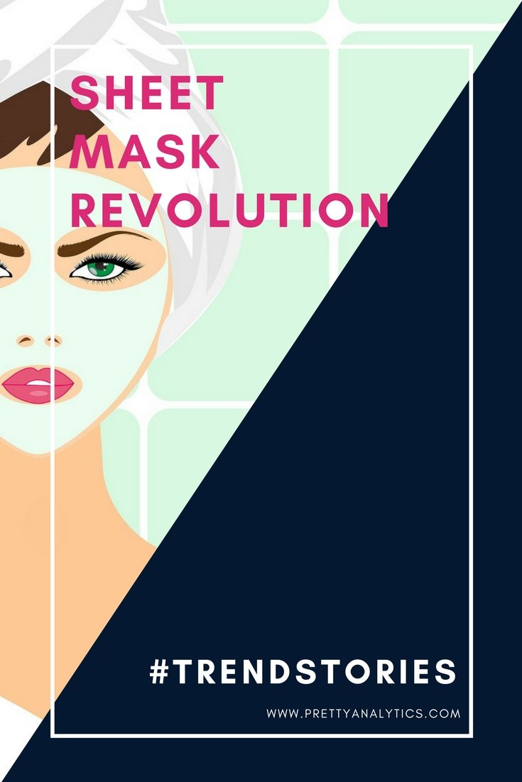 The popularity of sheet masks shows no signs of slowing down. It's not only about their novelty and effective delivery system for hydration and active ingredients. Alongside the import of Asian brands, offerings from the Western market have emerged. Salons and nail bars have also picked up on this trend, offering customers the bonus of hand and sheet masks, creating a more spa like environment.
