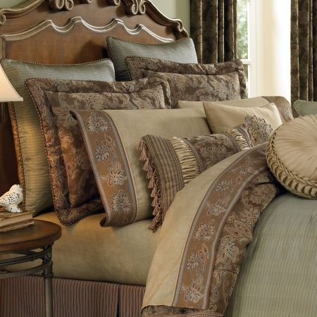 Blending subtle colors, exquisite detailing and luxurious embellish...