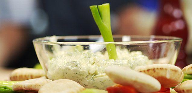 Trempette au concombre et à l'aneth sur Wikibouffe