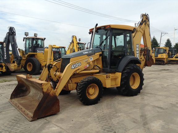 2002 John Deere 410G For Sale (7822886) from West Side Tractor Sales Co. Inc. [213] :: Construction Equipment Guide