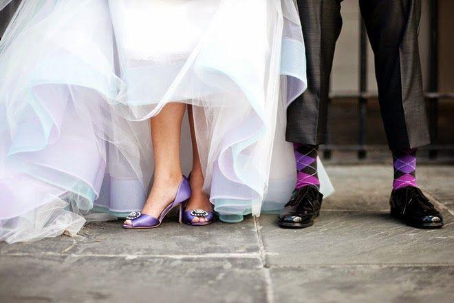 Essentials for a purple wedding