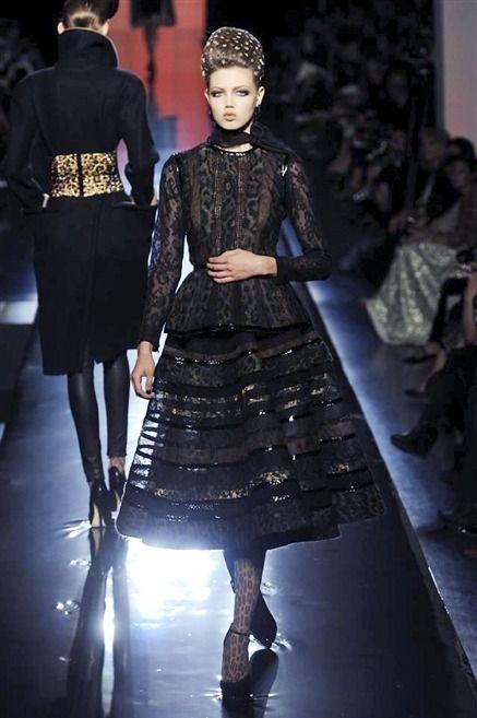 Photos du défilé Jean Paul Gaultier Haute Couture automne-hiver 2013-2014