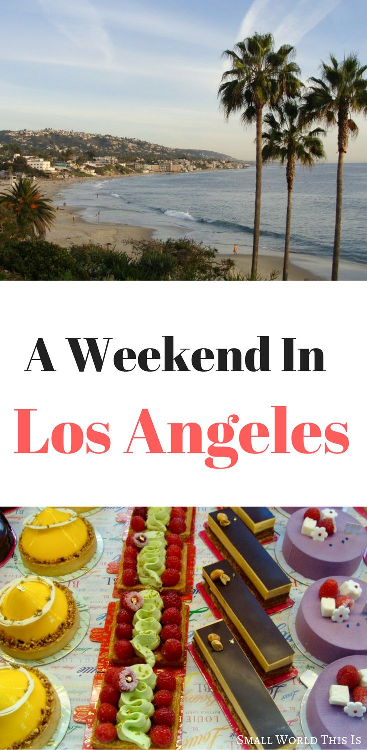A quick weekend getaway to Los Angeles that included brunch at Bottega Louie and a lazy day at Laguna Beach | los angeles travel | los angeles things to do | los angeles road trip