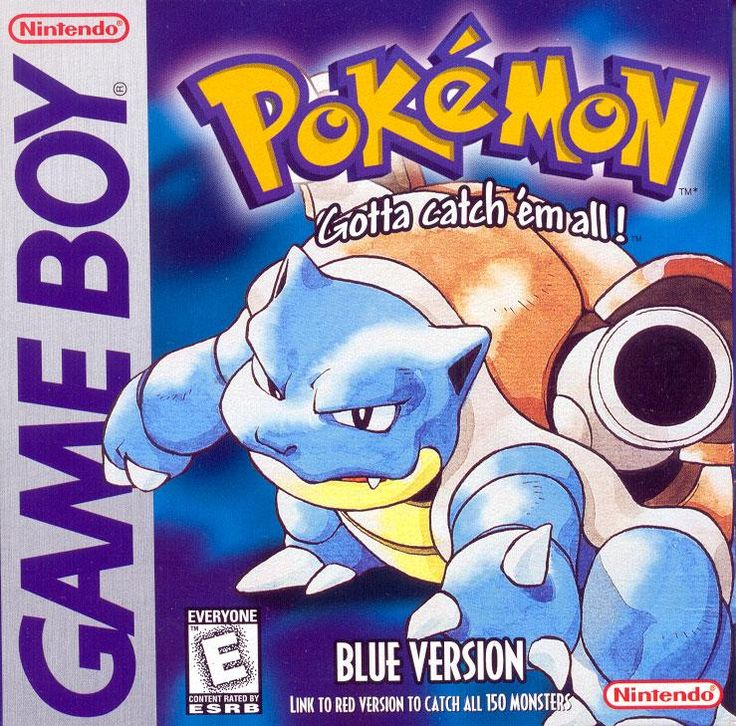 Pokémon: Blue Version (1998).