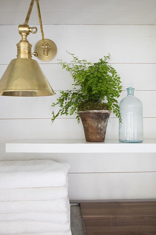 coastal mudroom/sunroom/laundry interior design by nest + company