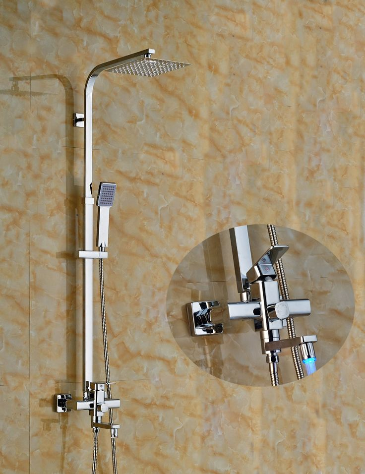 215 best Shower Faucets images on Pinterest   Bathroom accessories ...