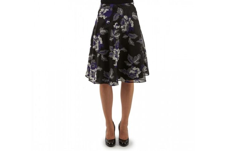 A floral #pattern for this elegant embroidered #skirt is what you desire.