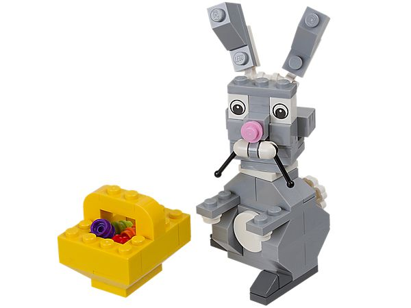 9 best images about lego easter 2015 ideas on pinterest niece easter has arrived bunny with basket legos negle Images