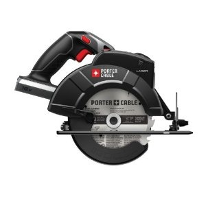 Porter Cable 18V circular saw with laser guide