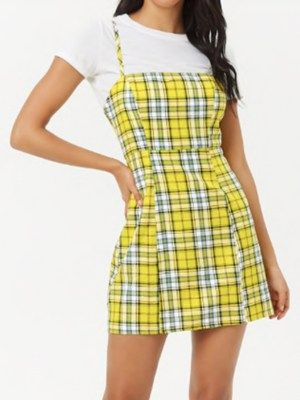 2a77796c48c Fall Trend  Yellow Plaid Clueless Outfits inspired by Cher Horowitz ...