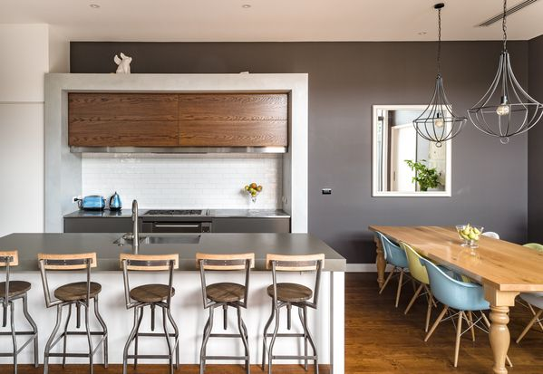 Contemporary Kitchen   27 Chesterfield Ave, Glendowie, Auckland. Photo / Ted Baghurst.