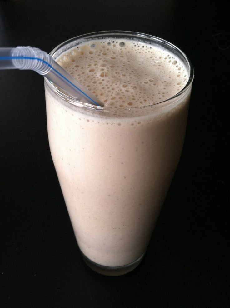 Chocolate Peanut Butter Banana Smoothie  Great Weight Watcher's Lunch or Snack for only 4 Points+