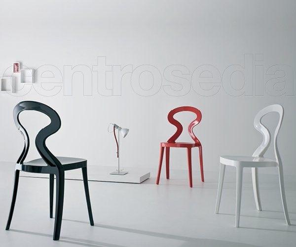 Beautiful anita sedia plastica with sedie plastica design - Sedia tulip star ...