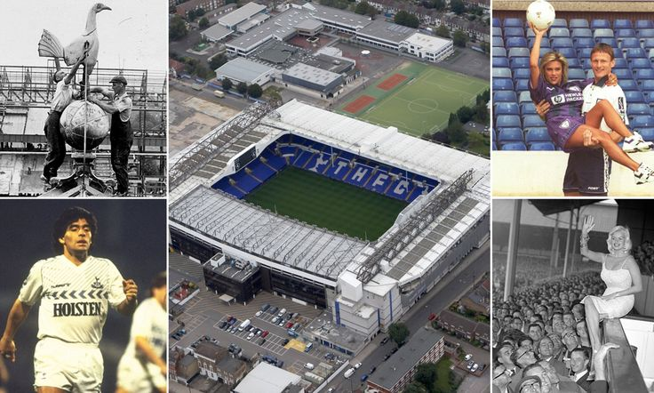 It will soon be the end of an era at White Hart Lane as Tottenham prepare to play their final game at the ground before it is demolished. Here Sportsmail looks back at Spurs' 118 years there.