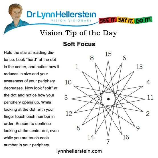Soft focus at LynnHellerstein.com #visiontherapy  #sportsvisiontraining