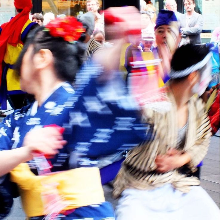 A blur of movement. Japanese martial arts.  #martialarts #warriors #dance #dancemovement #dancemoms #dancephotography #japan #japanese #colour #longexposure