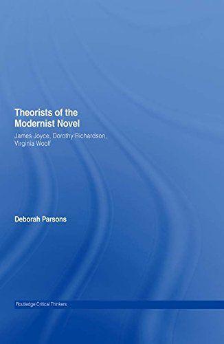 Theorists of the Modernist Novel: James Joyce, Dorothy Ri... https://www.amazon.com.au/dp/B000SKMYMY/ref=cm_sw_r_pi_dp_x_iI9WybPPY6V4X