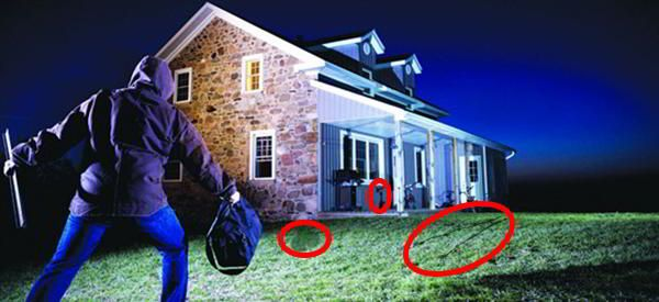 Protecting your property is a challenge, especially if you live in a rural area. If there's an intruder the police can take a long time to respond – and, if
