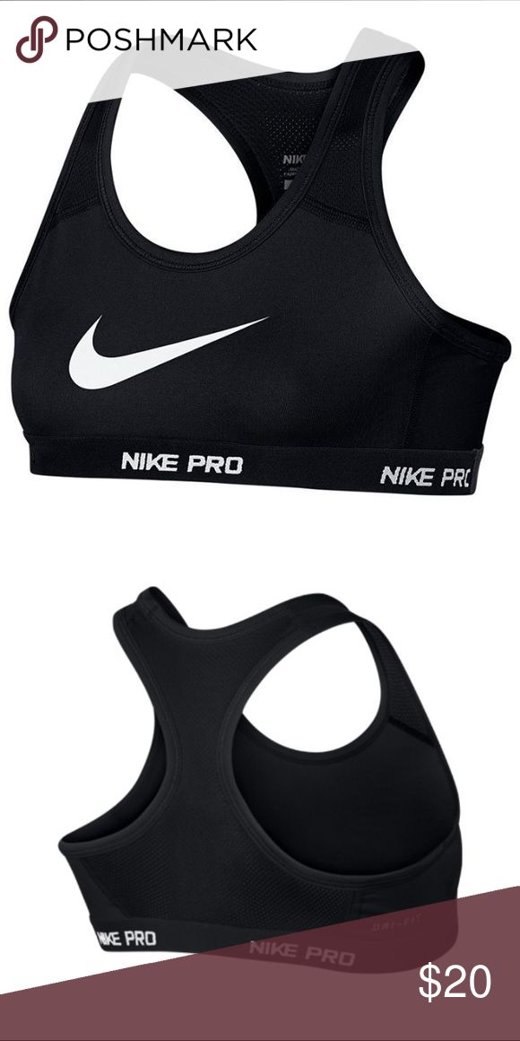 Nike pro girls Nike HyperCool Pro Junior Girls Bra This HyperCool Pro Bra is constructed with Dri Fit technology which assists in drawing away moisture from the body leaving you cool and dry. A racer back and elasticated hem provides a comfortable but yet secure fit,   > Sports Bra  > Dri Fit technology  > Scooped neck  > Racer back  > Elasticated waistband  > Flat lock seams  > Nike branding  > 88% recycled polyester, , 12% elastane  > Machine washable at 30 degrees  > Keep away from fire…