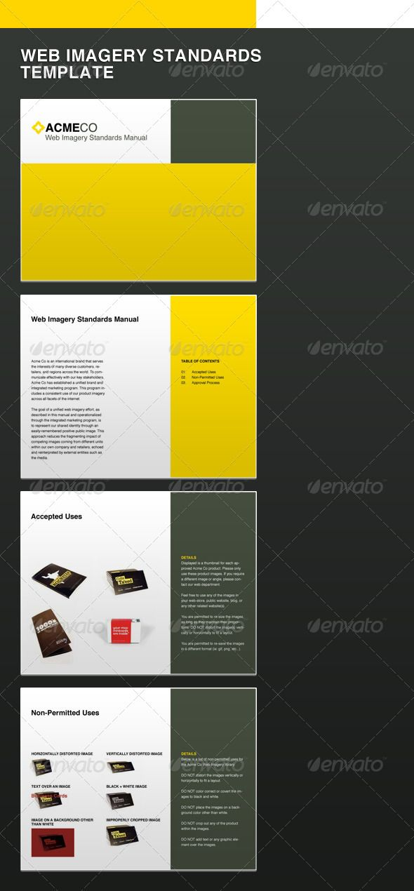 Simple eBook Template Italic font, Golden ratio and Fonts download - it manual templates to download