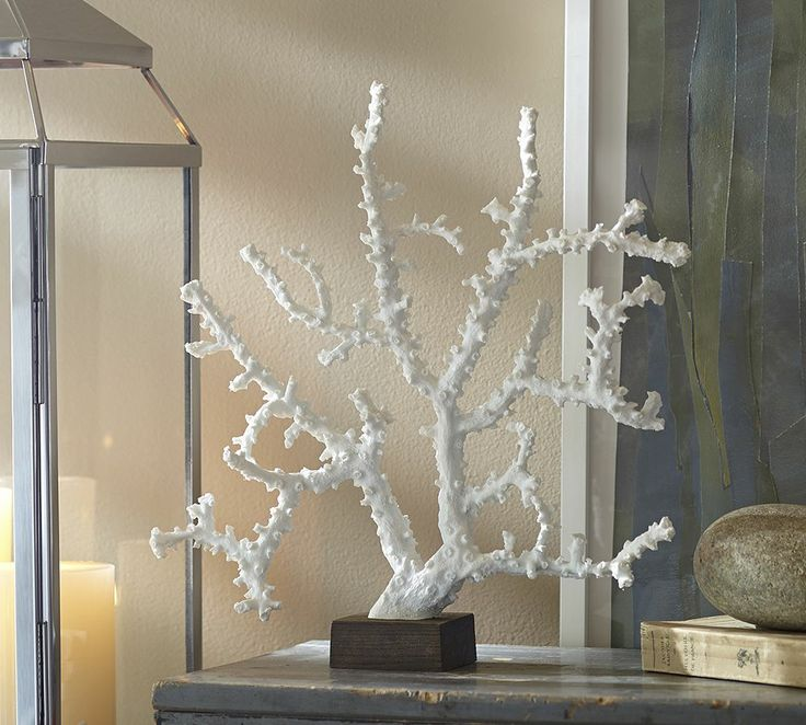 White Coral Stand     Pottery Barn Australia