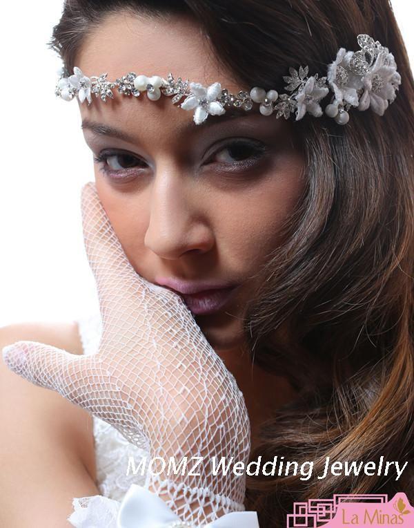 Принцесса-невеста цепь цепь лоб корейский невесты свадебный головной убор количество повязку цепные брови падают свадебные аксессуары для волос полос - Taobao
