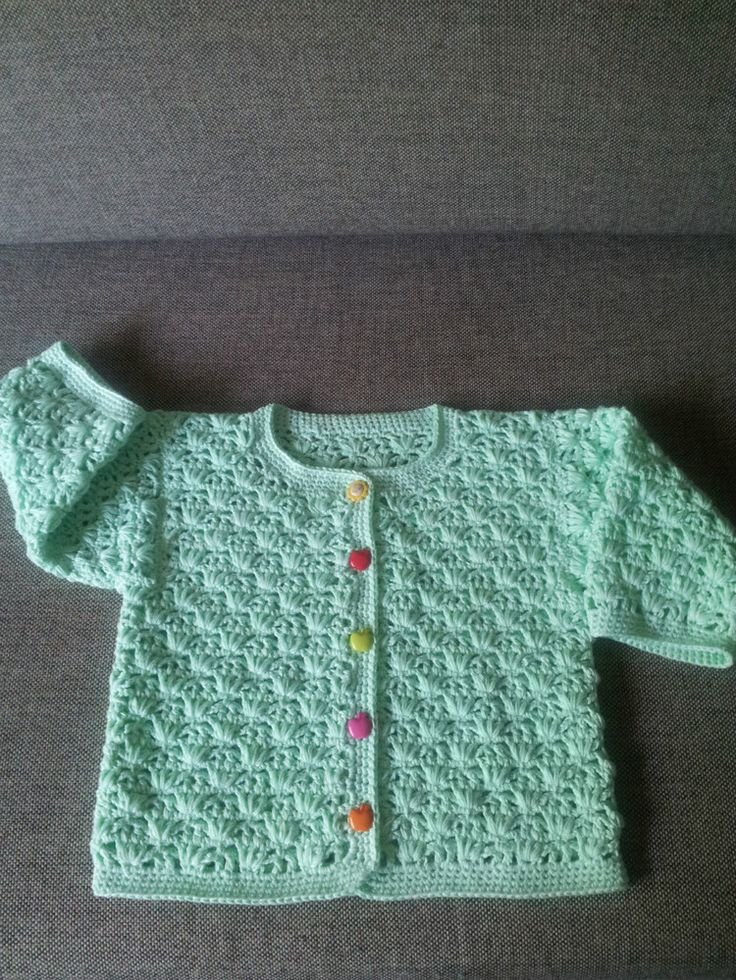 1000 Ideas About Crochet Baby Sweaters On Pinterest