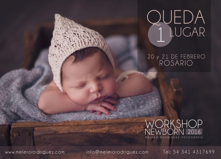 Solo queda 1 lugar para el 8vo workshop fotografía newborn 20 21 de febrero
