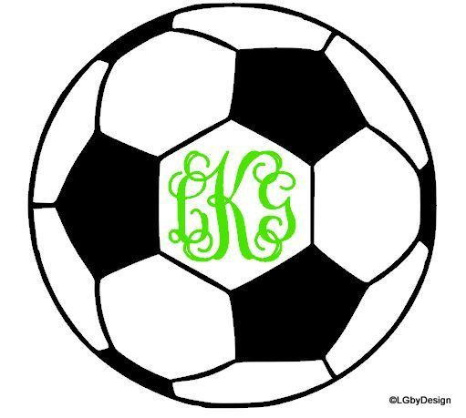 This decal would be great for the soccer player/lover!