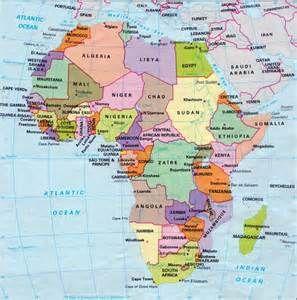 Cartina Geografica Dell'Africa fisica e politica - Risultati Yahoo Italia della ricerca di immagini