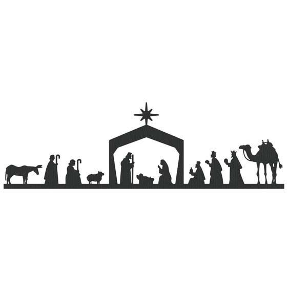Lifestyle Crafts - Die Cutting Template - Christmas - Nativity Border at Scrapbook.com $29.99