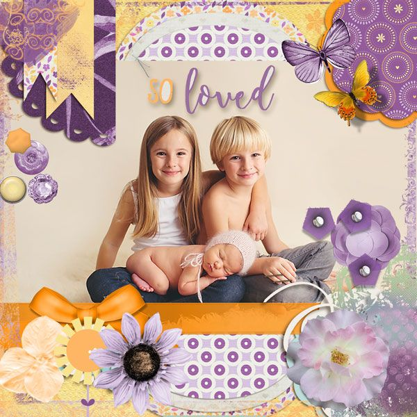 Layout by sanra using Mother by Scrapbird Designers collab https://scrapbird.com/kits-c-446/scrapbird-collab-c-446_113/mother-p-18588.html