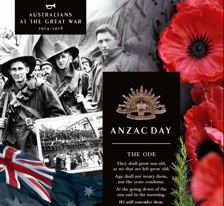Anzac Day ~ The Ode.