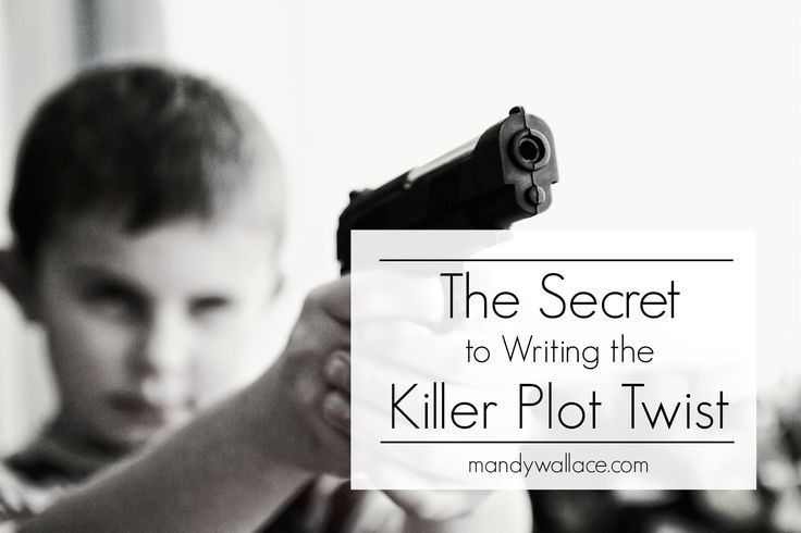 The Secret to Writing the Killer Plot Twist - How to write a plot twist, for writers || Mandy Wallace #plottwist #writingtips