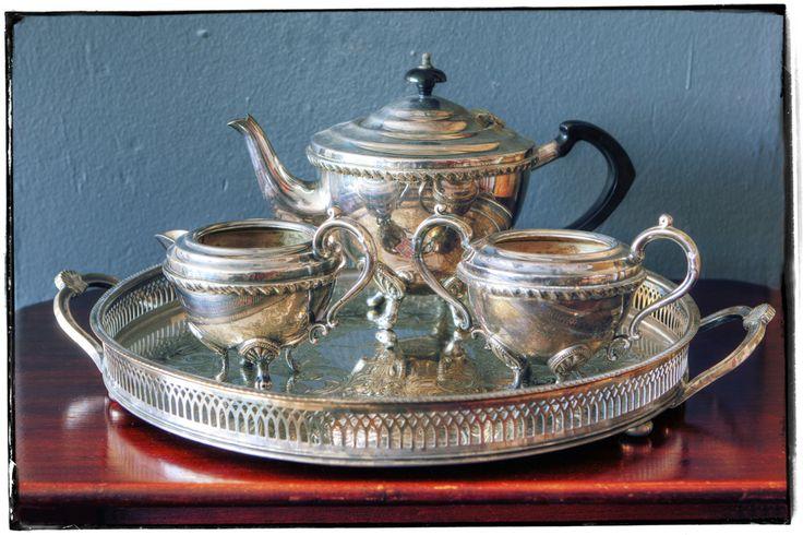 Silver + Tea (EPNS)