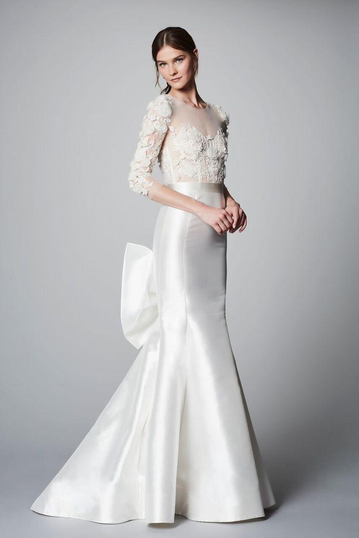 18 best SS18 Marchesa Bridal Lookbook images on Pinterest | Short ...