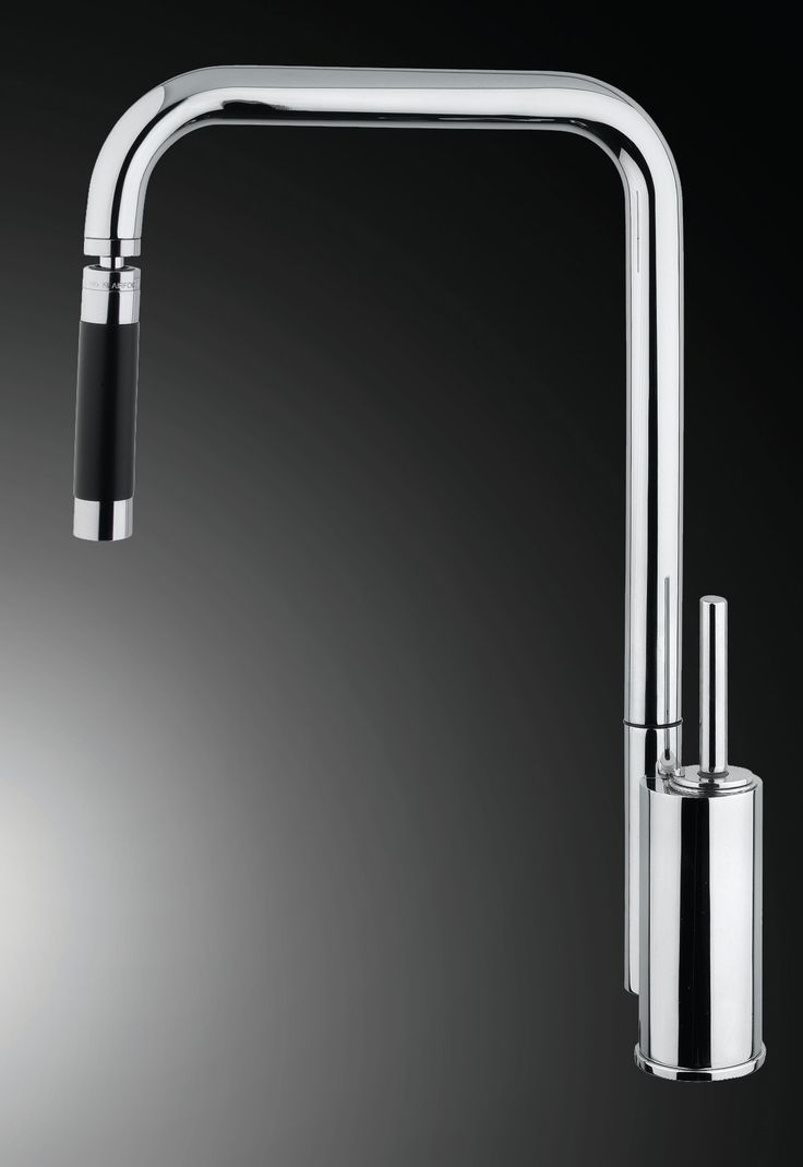 Bend Snake - single Lever Kitchen mixer with suivel head. Armando Vicario By Hafele