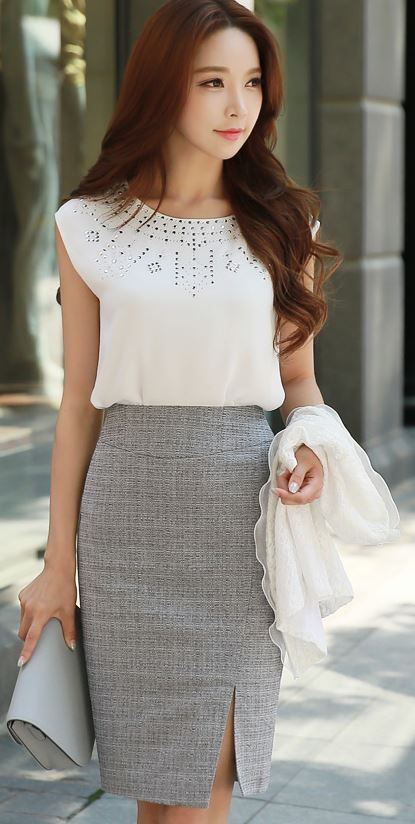 25  best Formal skirt ideas on Pinterest | Pencil skirts, Work ...