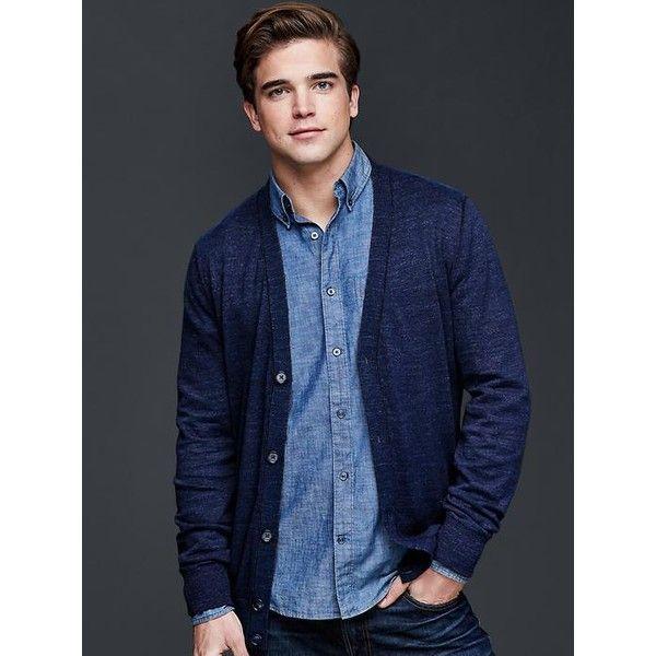 Mens Cotton Cardigan Sweaters - Coat Nj